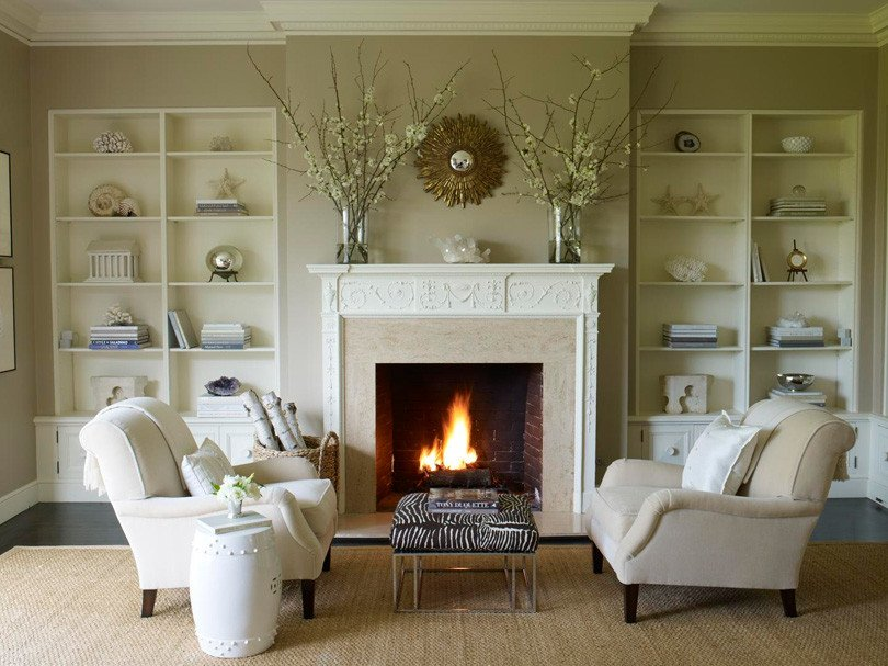 Traditional Living Room Fireplace New Evergreen Custom Residence Fireplace Design Options — Evstudio Architect Engineer Denver