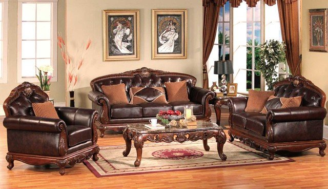 Traditional Living Room Furniture Awesome Traditional Living Room Furniture Traditional sofas Other Metro by Dealshopperz