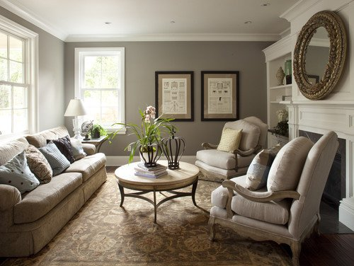 Traditional Living Room Gray Lovely the 6 Best Paint Colors that Work In Any Home