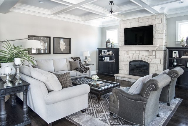 Traditional Living Room Gray Luxury Beautiful Gray Traditional Living Room Chicago by Kristin Petro Interiors Inc