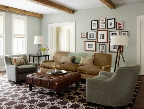 Traditional Living Room Gray Unique Benjamin Moore Gray Wisp Favorite Paint Color Postcards From the Ridge