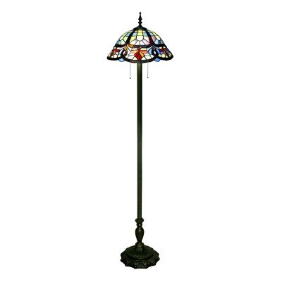 Traditional Living Room Lamps Beautiful Traditional Living Room Floor Lamp 65 Inch High In Tiffany Style with Pull Chain Beautifulhalo