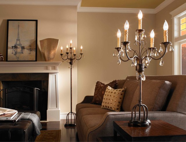 Traditional Living Room Lamps Elegant Home Ficedecoration