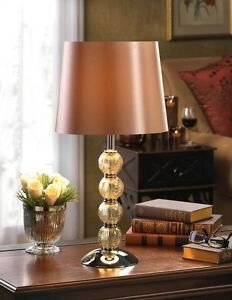 Traditional Living Room Lamps Lovely Crackled Glass Lamp Table Light Shade Traditional Living Room orbs Lamp New