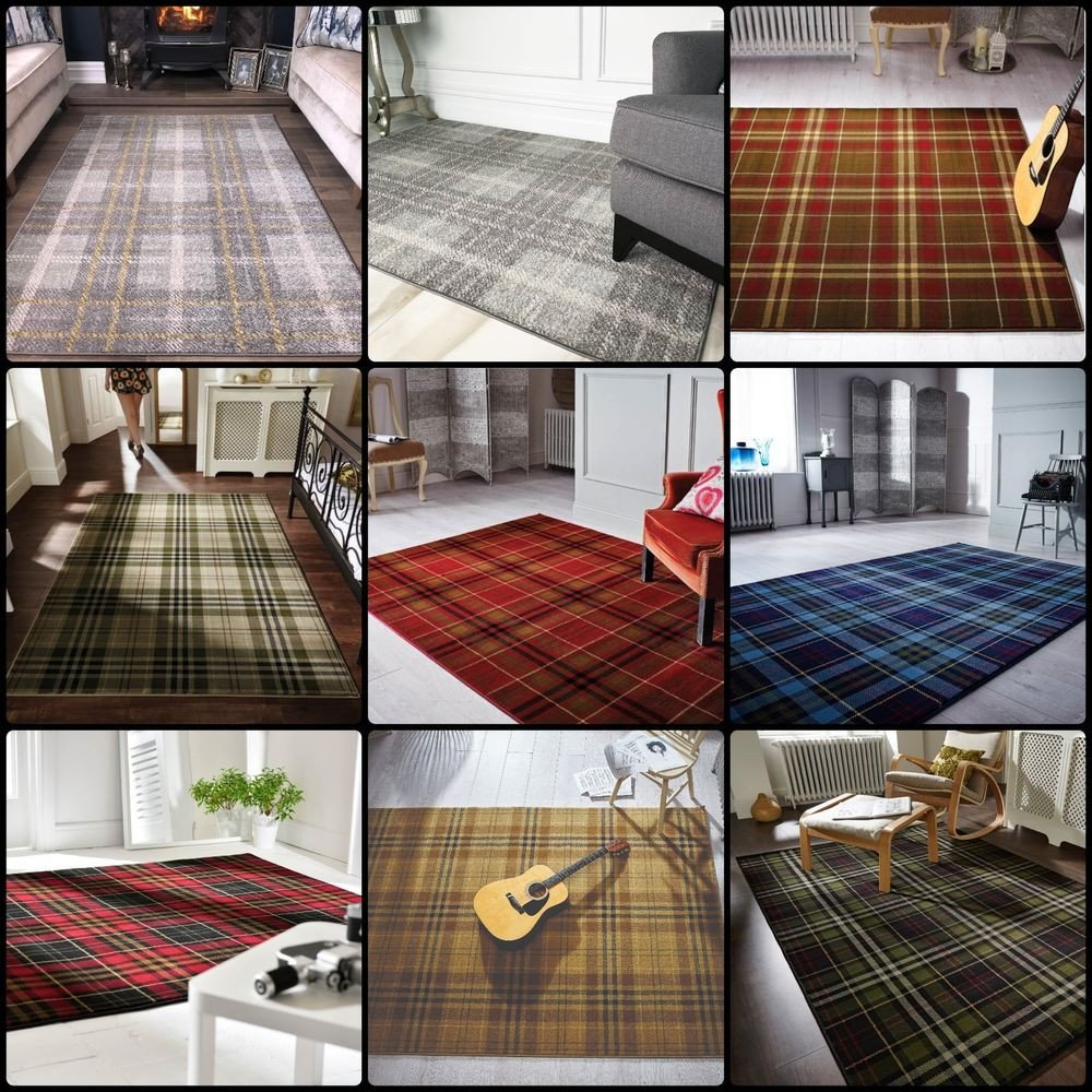 Traditional Living Room Rugs Elegant New Modern Tartan Living Room Rug soft Traditional Classic Vintage area Rugs Uk