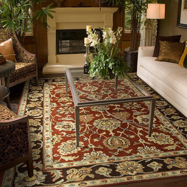 Traditional Living Room Rugs Lovely Living Rooms Traditional Living Room Kansas City by area Rug Dimensions