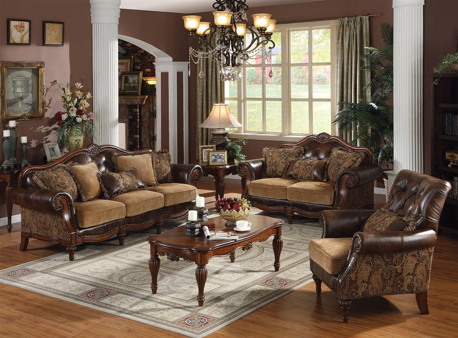 Traditional Living Room Sets Beautiful Traditional sofa Ac 49