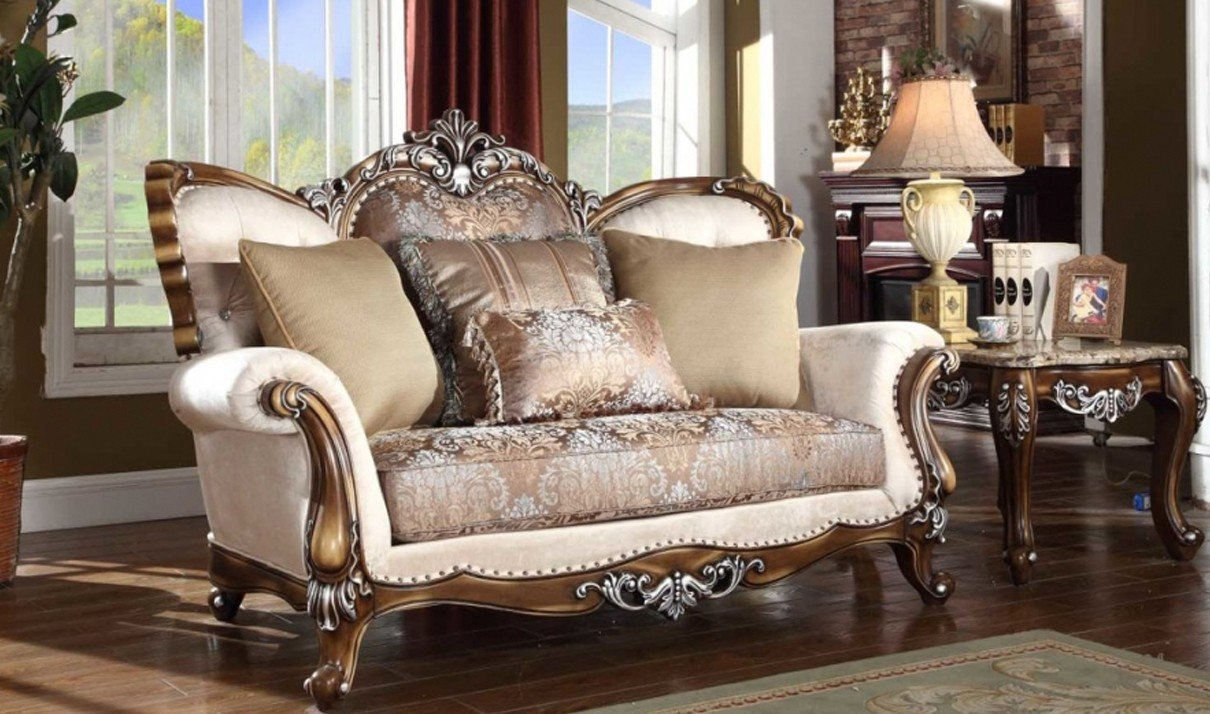 Traditional Living Room Sets Elegant 603 Sandro Traditional Living Room Set In Light Cherry by Meridian Furniture