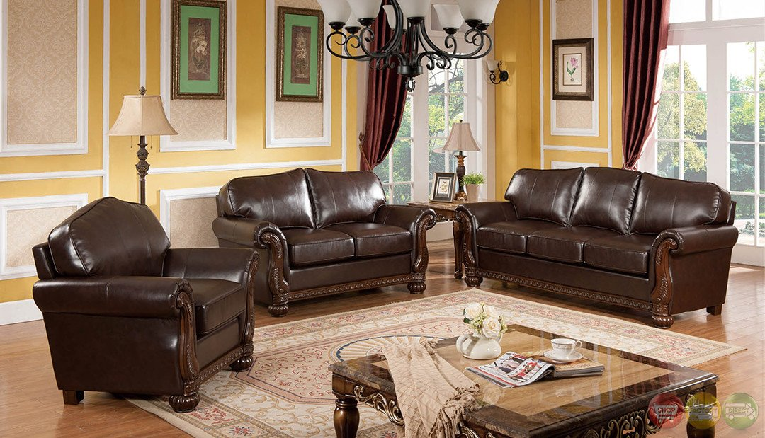 Traditional Living Room Sets Elegant Eve Traditional Medium Wood formal Living Room Sets with Carved Accents Rpcmo92