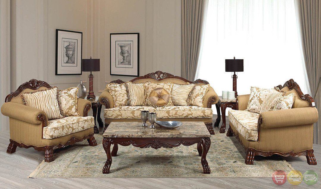 Traditional Living Room Sets Lovely Beverly Traditional Dark Wood formal Living Room Sets with Carved Accents Rpcmo83