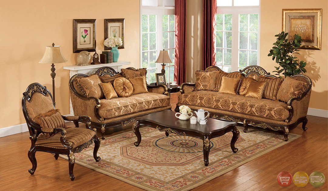 Traditional Living Room Sets Luxury Patricia Traditional Dark Wood formal Living Room Sets with Carved Accents Rpcmo87
