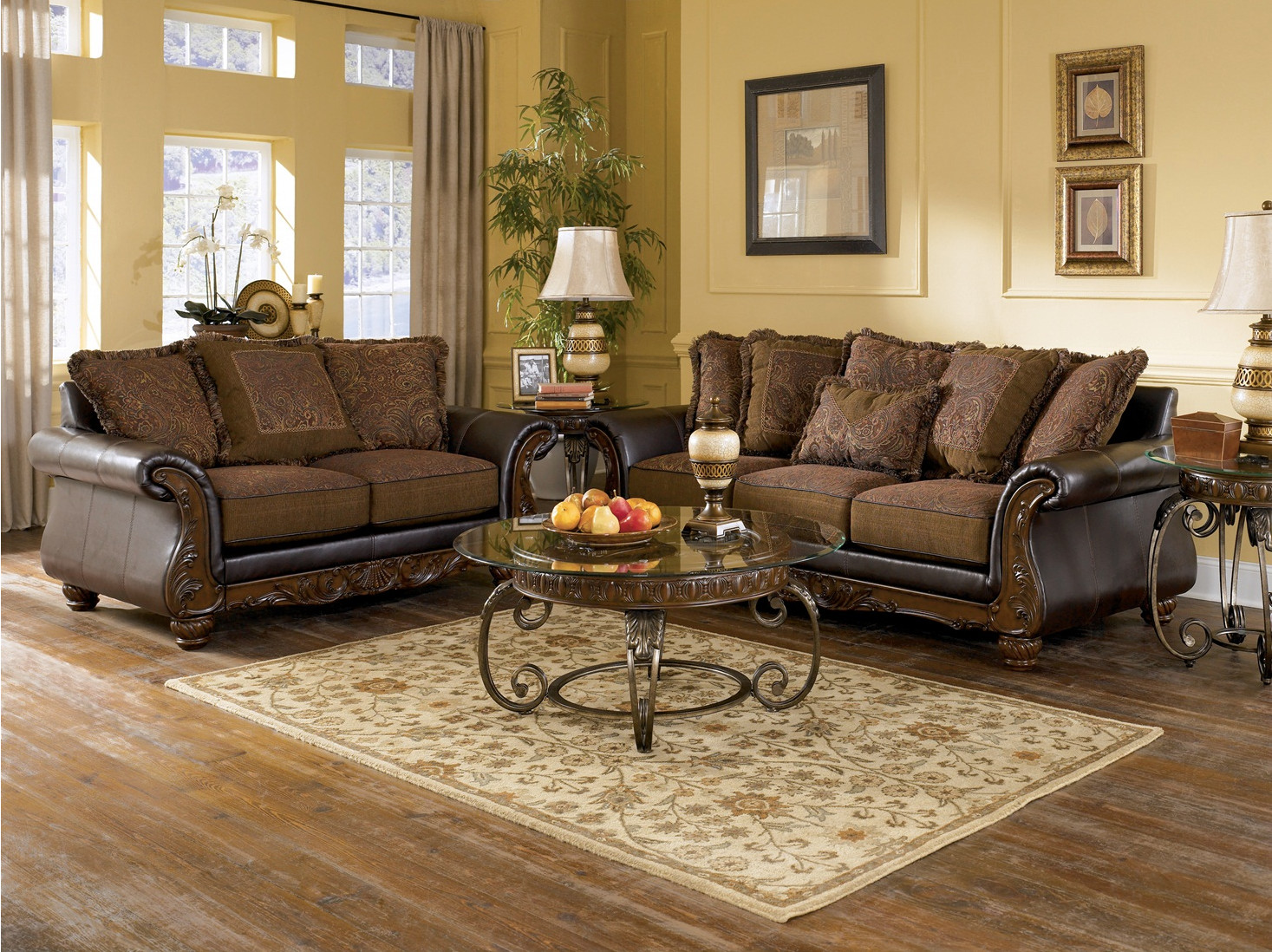 Traditional Living Room Sets Luxury Wilmington Traditional Living Room Furniture Set by ashley