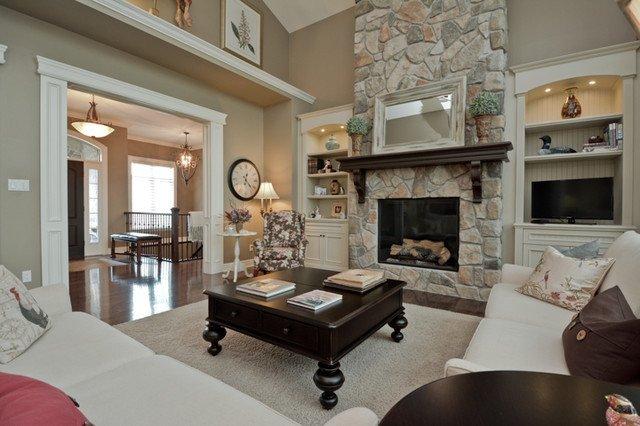 Traditional Living Room toronto Beautiful Living Room Traditional Living Room by Designing Durham