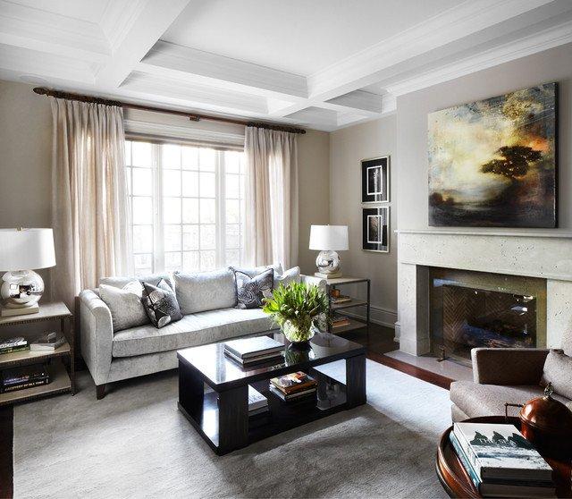 Traditional Living Room toronto Luxury Kingsway Home Traditional Living Room by Lisa Petrole Graphy