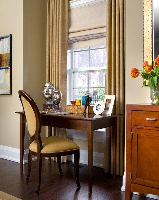 Traditional Living Room toronto Luxury toronto Living Room with Desk Traditional Living Room by Lisa Ferguson Interior