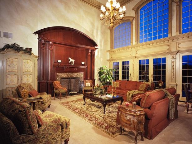 Traditional Living Room Tv Best Of Traditional Living Room Arched Windows Designers Portfolio Hgtv Home & Garden Television