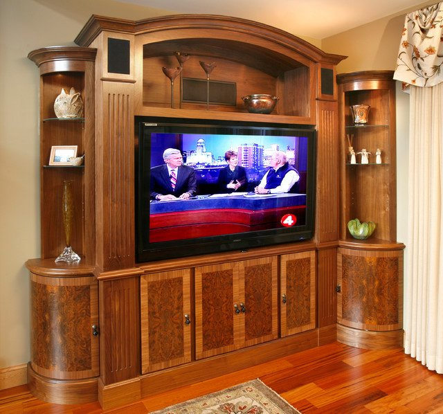 Traditional Living Room Tv Elegant Tv and Media Wall Unit Traditional Living Room Other Metro by Essential Home Artisans