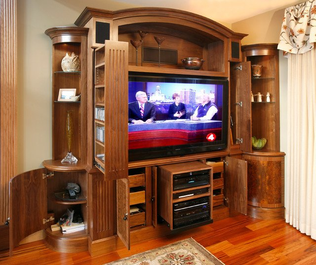 Traditional Living Room Tv Luxury Tv and Media Wall Unit Traditional Living Room Other Metro by Essential Home Artisans