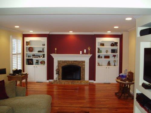 Traditional Living Room Tv Luxury Tv Units Traditional Living Room St Louis by Barco Construction Inc