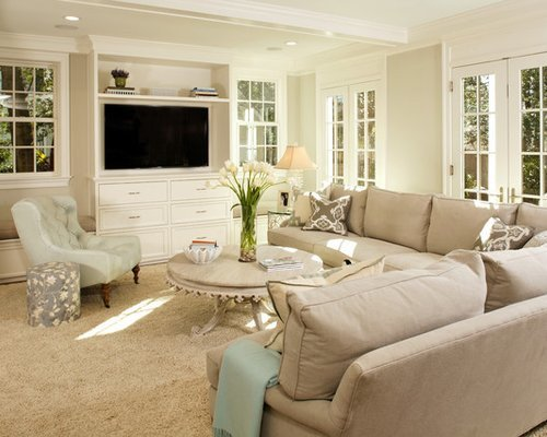 Traditional Living Room Tv New Built In Tv Console Home Design Ideas Remodel and Decor