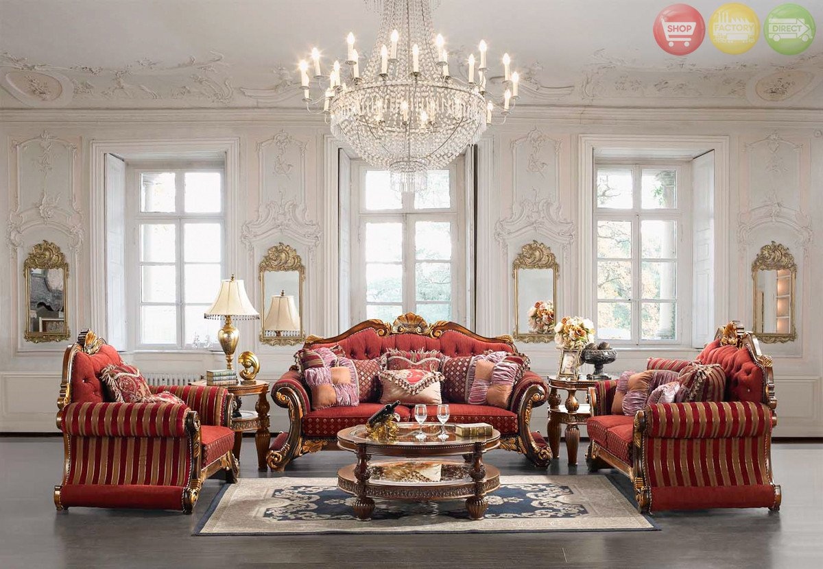Traditional Living Room Upholstered Chairs Beautiful Luxury Living Room Set