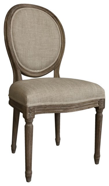 Traditional Living Room Upholstered Chairs Best Of Casual Living Vintage French Round Back Upholstered Linen Dining Chairs Traditional Dining