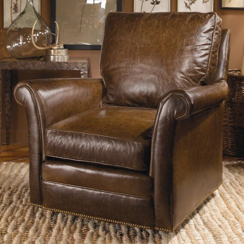 Traditional Living Room Upholstered Chairs Fresh Century Swivel Chairs Century Traditional Swivel Chair with Nail Head Trim Design Interiors