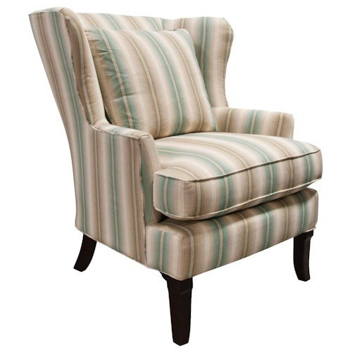 Traditional Living Room Upholstered Chairs Luxury England Scarlet Living Room Chair with Traditional Style Pilgrim Furniture City Upholstered