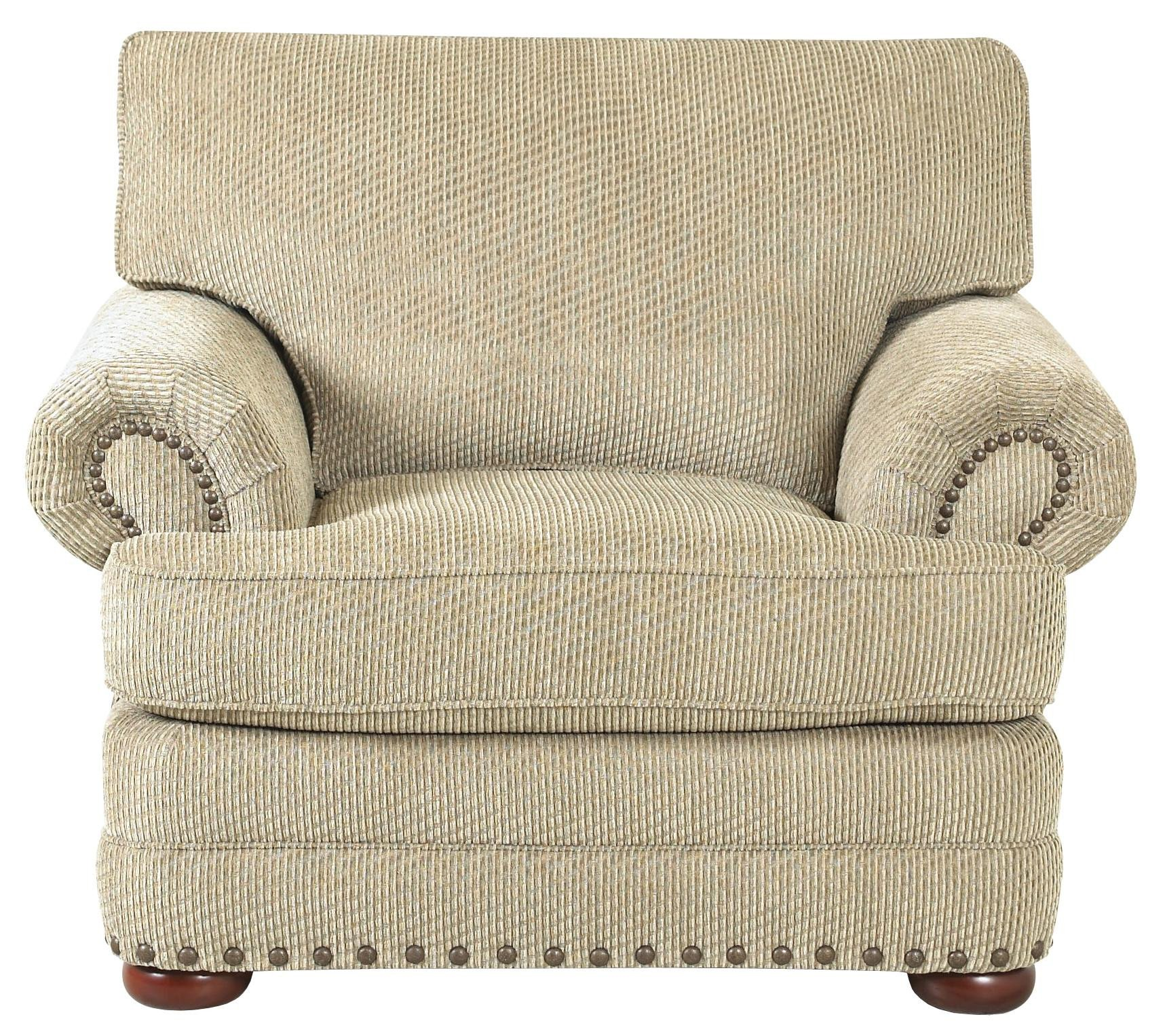 Traditional Living Room Upholstered Chairs Luxury Traditional Styled Living Room Chair by Klaussner