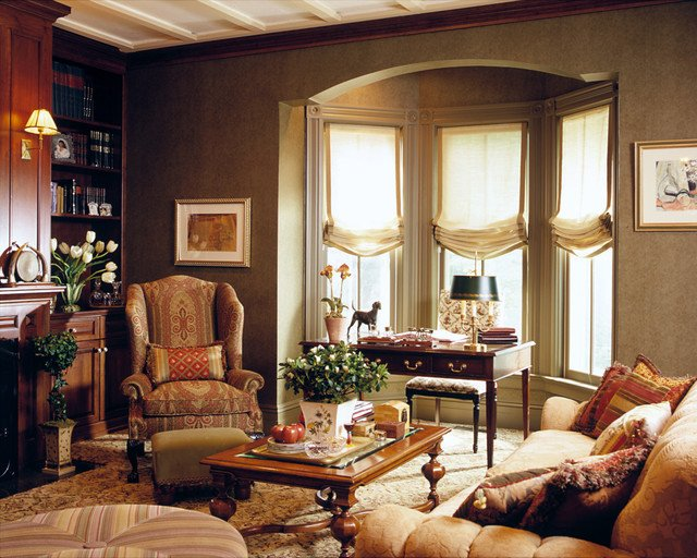 Traditional Living Room Windows Fresh Library 2 Traditional Living Room New York by Lauren Ostrow Interior Design Inc