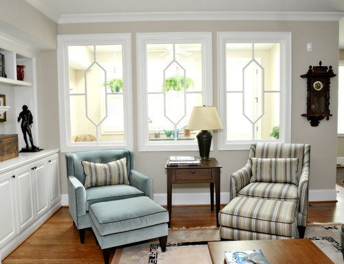 Traditional Living Room Windows Lovely Interior Walls