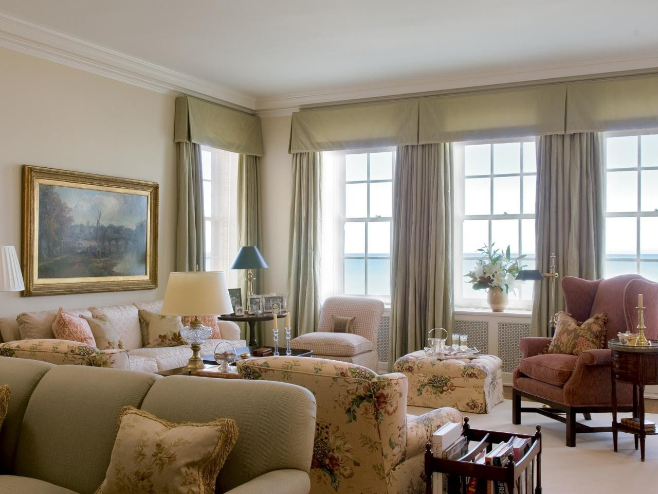 Traditional Living Room Windows Lovely S