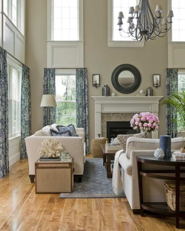 Traditional Living Room Windows New 15 Classy Traditional Living Room Designs for Your Home