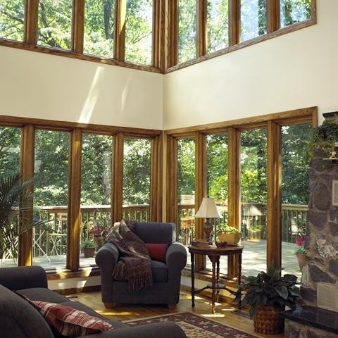 Traditional Living Room Windows New Casement Windows Traditional Living Room Louisville by Renewal by andersen