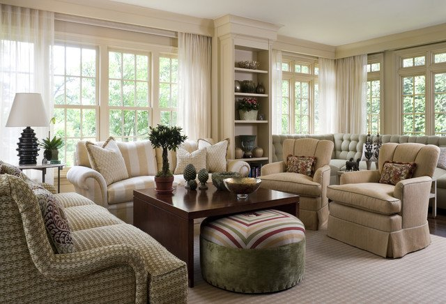 Traditional Living Room Windows New Living Room 5 Traditional Living Room New York by Lauren Ostrow Interior Design Inc