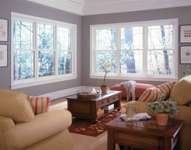 Windows Traditional Living Room other metro by Window World