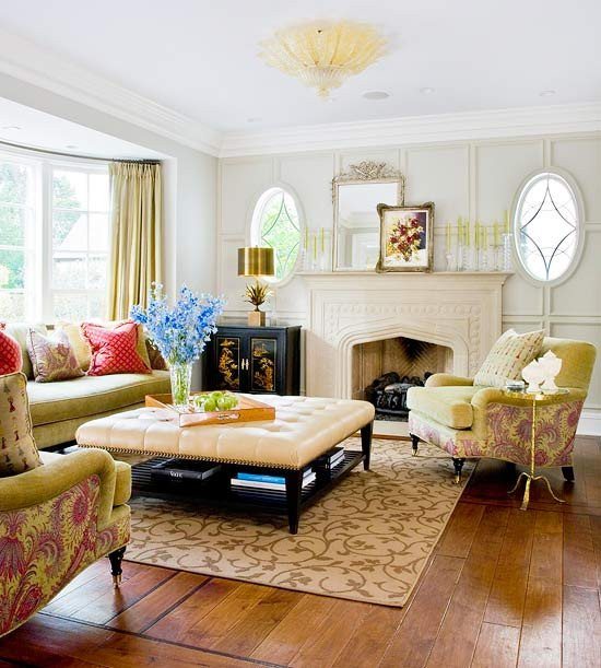 Traditional Modern Living Room Elegant 2013 Traditional Living Room Decorating Ideas From Bhg