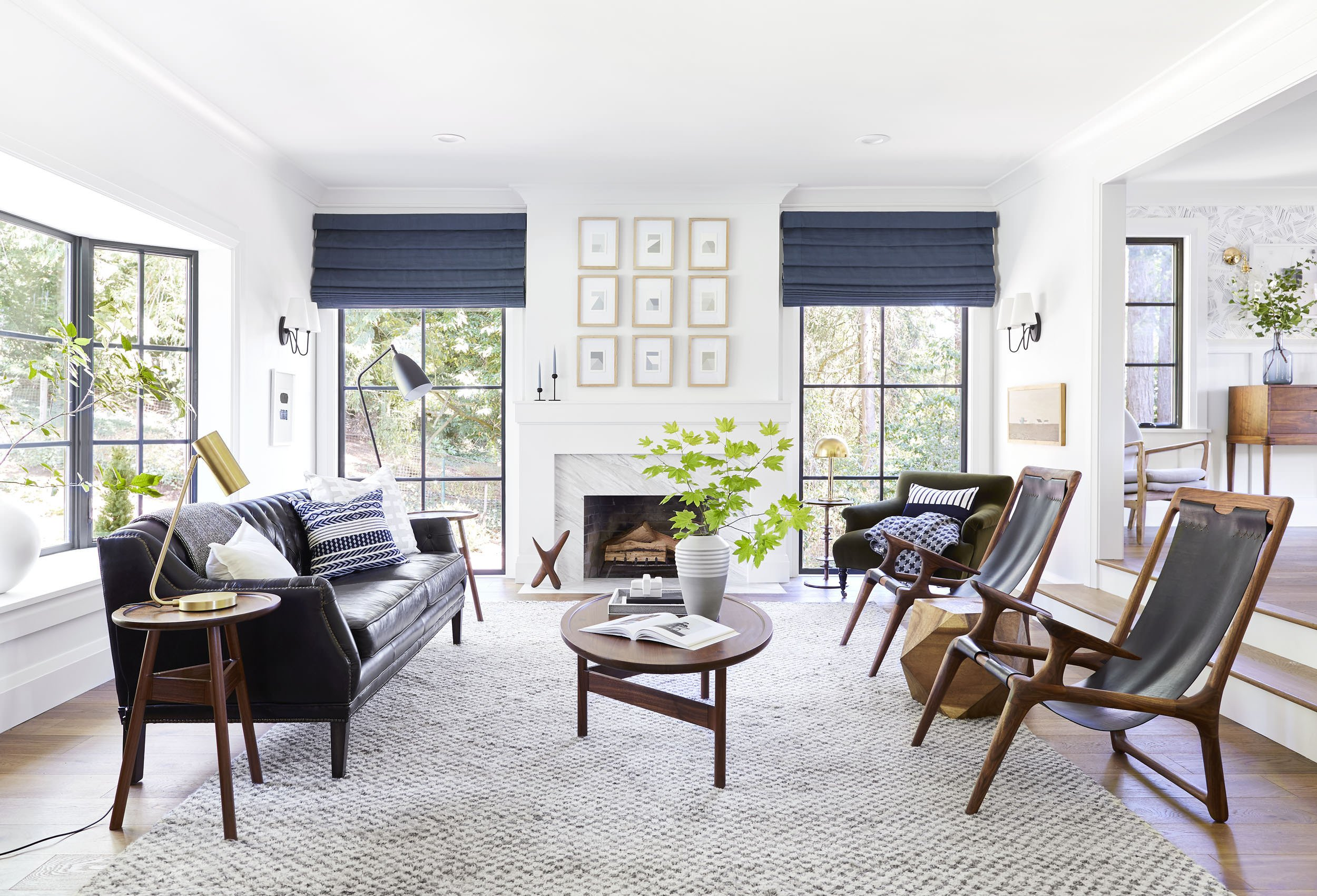 Traditional Modern Living Room New Mid Century Modern Style with A Traditional Twist Home