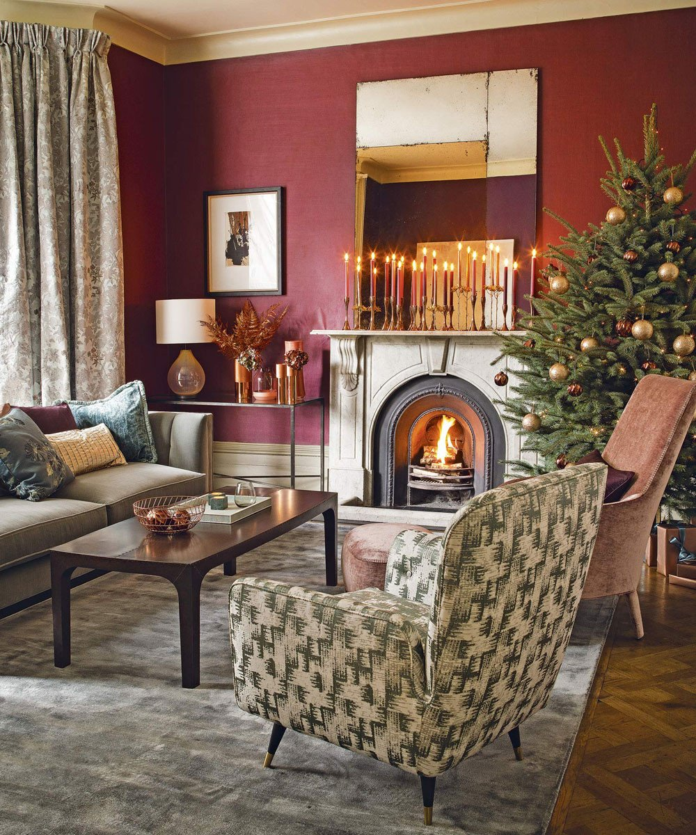 Traditional Small Living Room Elegant Christmas Living Room Decorating Ideas – Living Room for Christmas