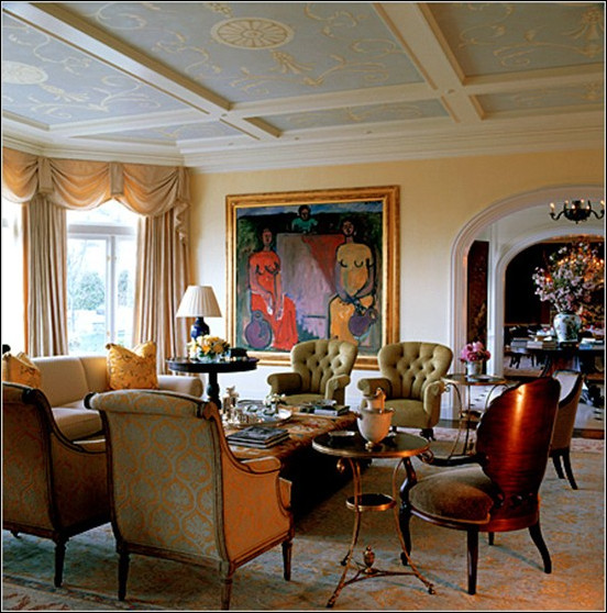 Traditional Style Living Room Luxury Key Interiors by Shinay Traditional Living Room Design Ideas
