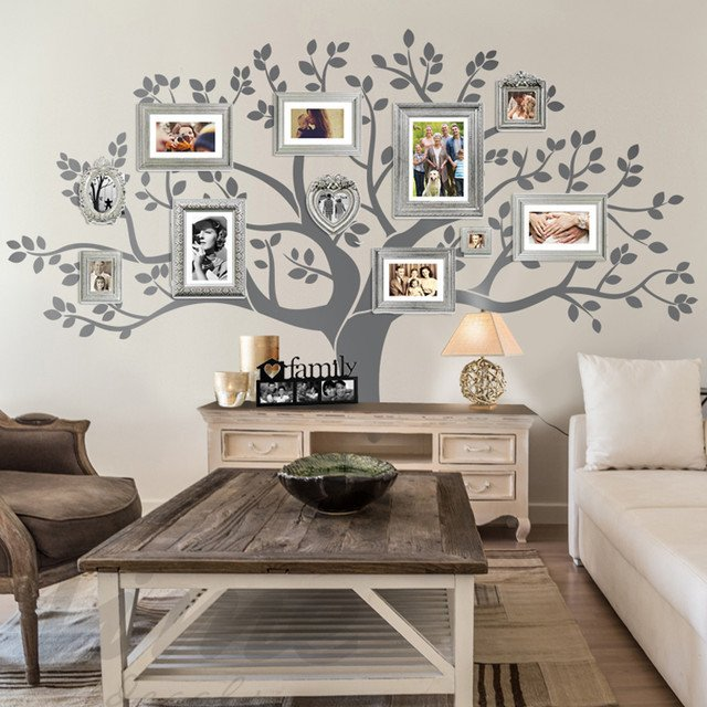 Tree Decor for Living Room Best Of Rustic Living Room Family Tree Wall Decor Rustic Family Room Other by Limedecals