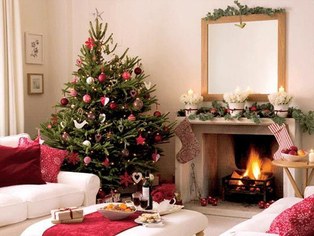 Tree Decor for Living Room Fresh White Xmas