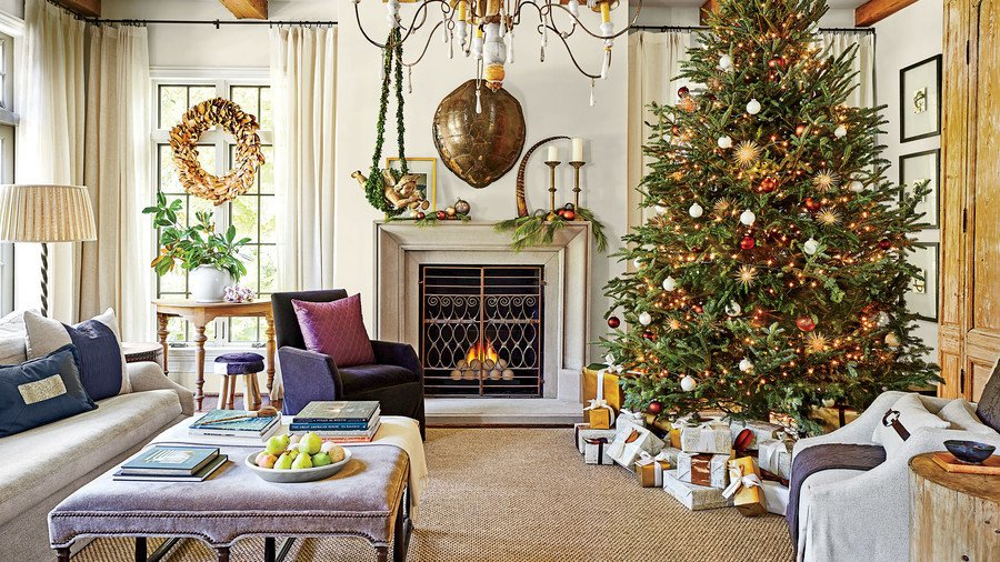Tree Decor for Living Room Inspirational Our Favorite Living Rooms Decorated for Christmas southern Living