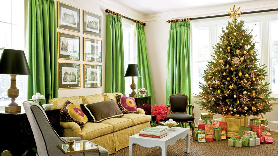 Tree Decor for Living Room New Our Favorite Living Rooms Decorated for Christmas southern Living