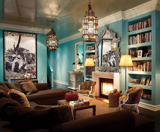 Turquoise and Brown Home Decor Beautiful Brown and Turquoise Living Room for the Home Turquoise and Purple Pinterest