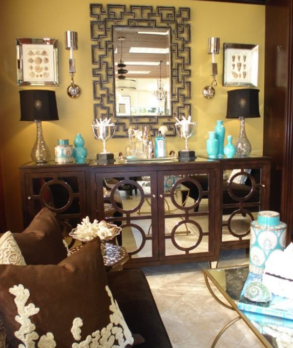 Turquoise and Brown Home Decor Lovely Decorate with Small Turquoise Accessories for A Big Kick In Your Decor