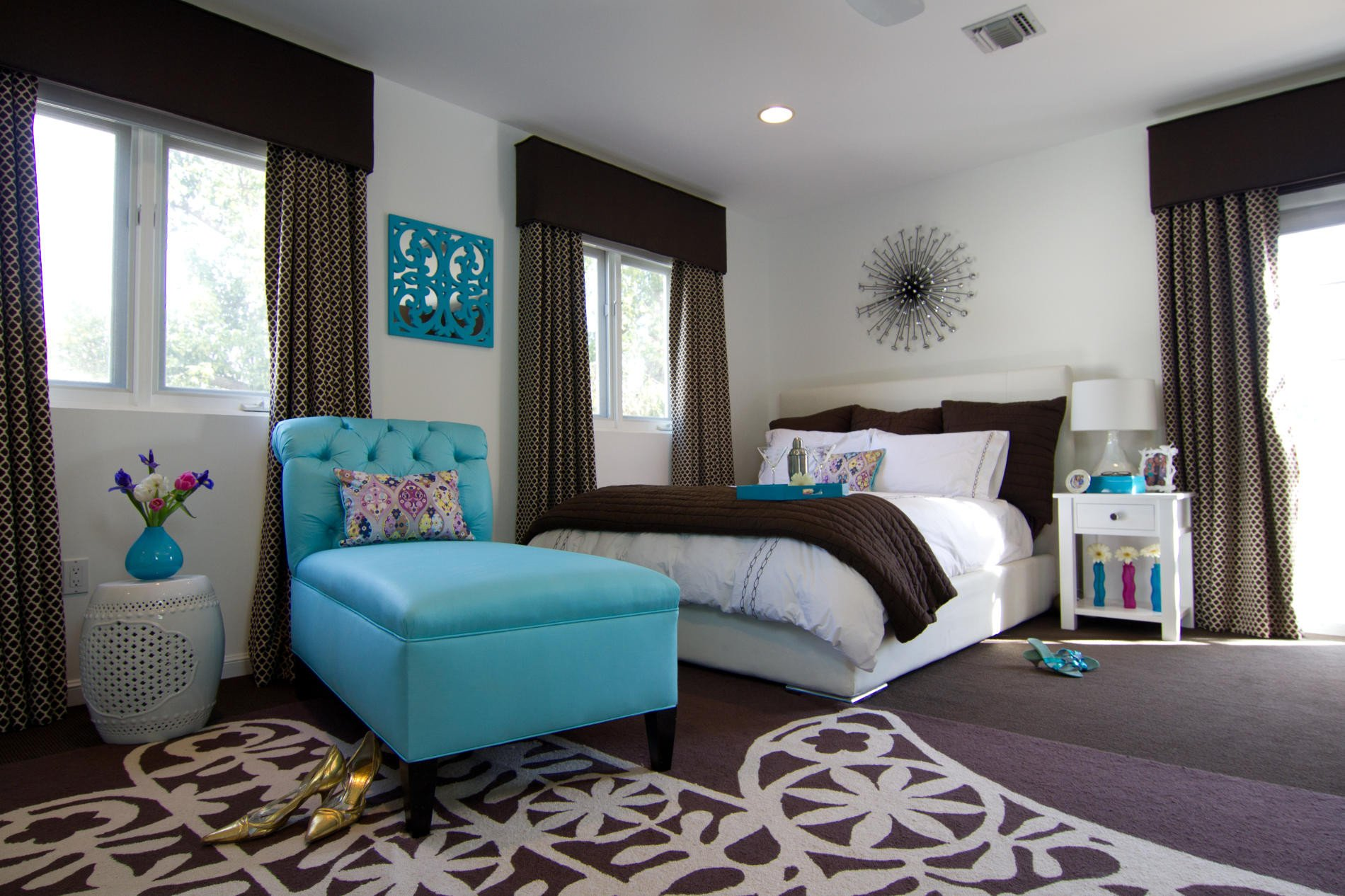 Turquoise and Brown Home Decor Luxury Make Your Bedroom A Romantic Haven Part 4