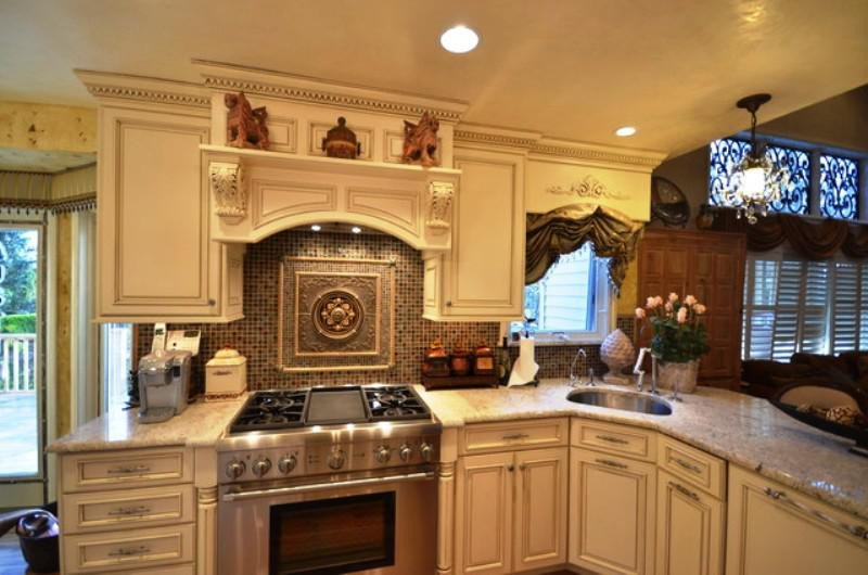 Tuscan Decor On A Budget Beautiful Popular Tuscan Kitchen Design A Bud