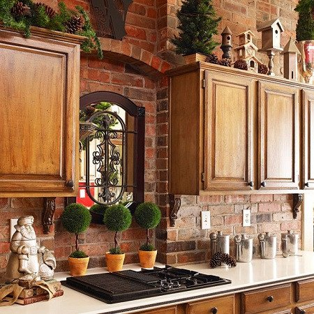 Tuscan Decor On A Budget New Spread Holiday Cheer with Faux Wall Panels Faux Direct