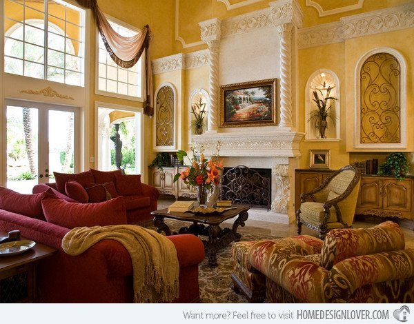 Tuscan Living Room Decorating Ideas Beautiful 15 Stunning Tuscan Living Room Designs Fox Home Design